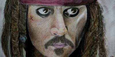 Johnny Depp Kalóz